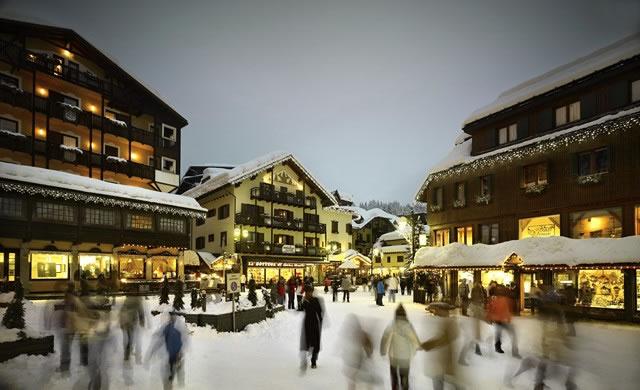 Skiing in Madonna di Campiglio Ski Italy