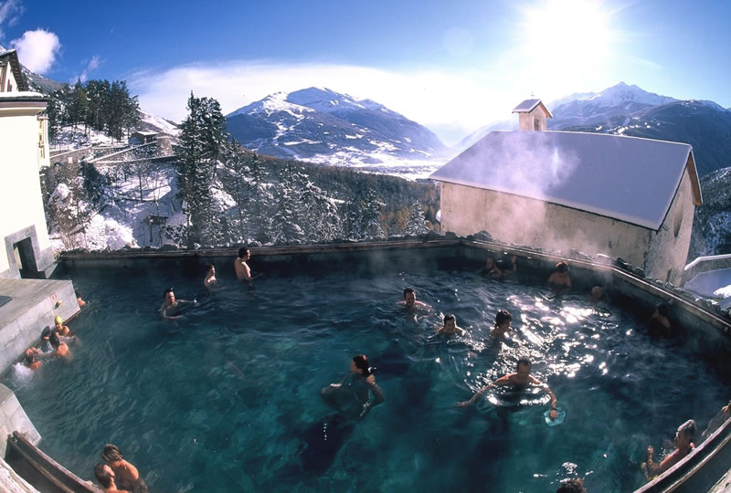 Thermal baths ski italy for Meuble cima bianca